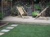 Back garden deck